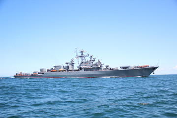 Russian military ship