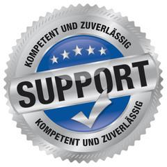 Support - kompetent und zuverlässig