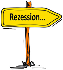 Rezession...