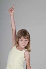 kleines Mädchen meldet sich,  Studio