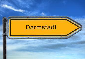 Strassenschild 26 - Darmstadt