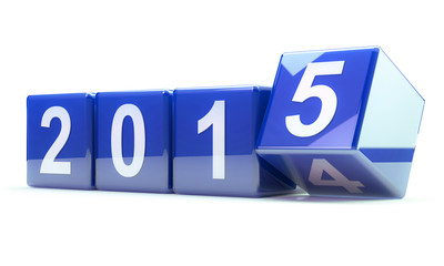 2015 - blue cubes