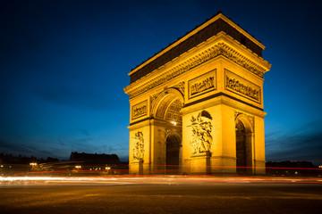 Arc de Triomphe, Paris (France)