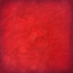 red dotted festive background