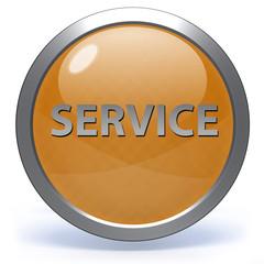 Service circular icon on white background