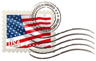usa postage stamp