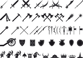 medieval weapons