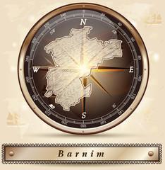 Karte von Barnim
