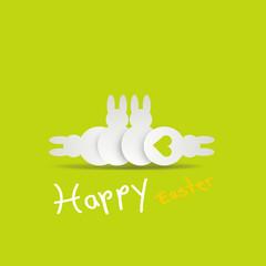 osterhasen grün happy