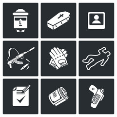 Killer Vector Icons Set