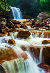 Douglas Falls, on the Blackwater River in Monongahela National F