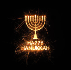 Happy Hannukah greeting