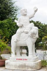 Guanyin buddha temple near Danang City,Vietnam.
