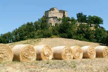 Castle Rossena on Emilia Romagna