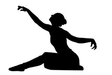 Tänzerin in Pose