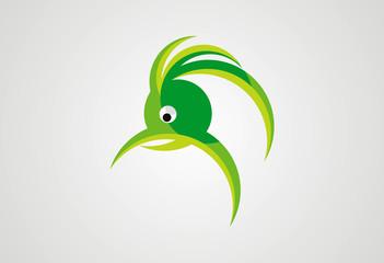 bird head logo vector