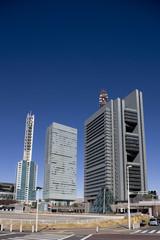 さいたま新都心の高層ビル街