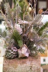 Xmas deco for table center