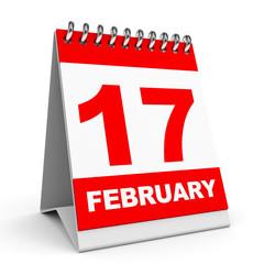 Calendar. 17 February.
