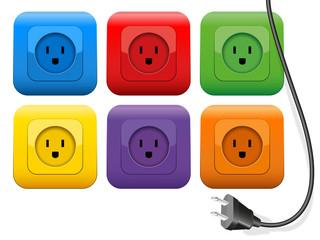 Plug Outlets Color