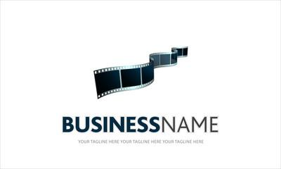 logo cinema, pellicola, fotogramma