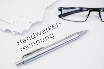 Hanwerkerrechnung