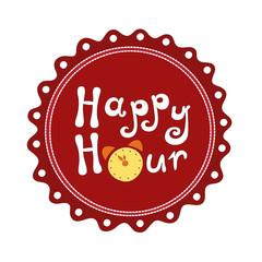 Badge Happy hour