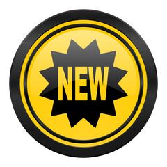 new icon, yellow logo,