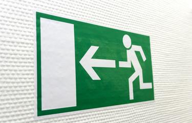 Piktogramm Fluchtweg 08460