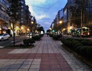 Calle de luces