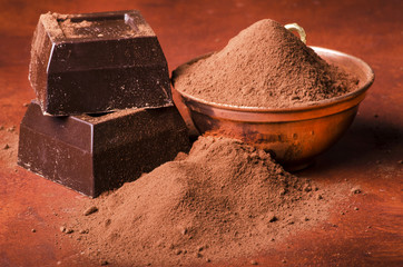 cacao con cioccolato