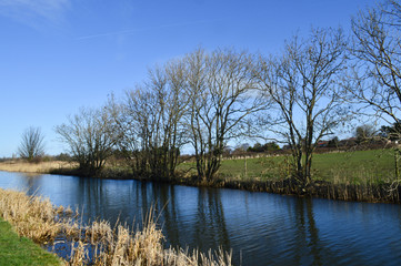 Liverpool countryside, river