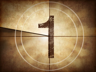 Old movie countdown number 1