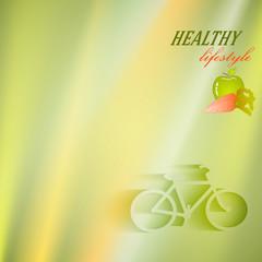 healthy-lifestyle-mock-presentation-speed-bike
