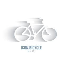 healthy-lifestyle-logo-effect-paper-speed-bike