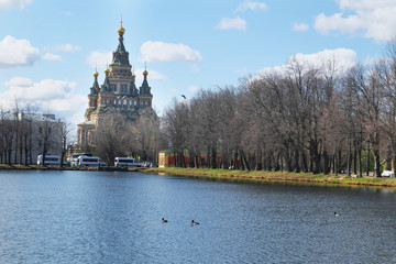 St. Petersburg, Russia, May: St. Peter and Paul Cathedral,