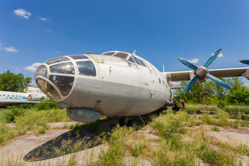 Old russian aircraft