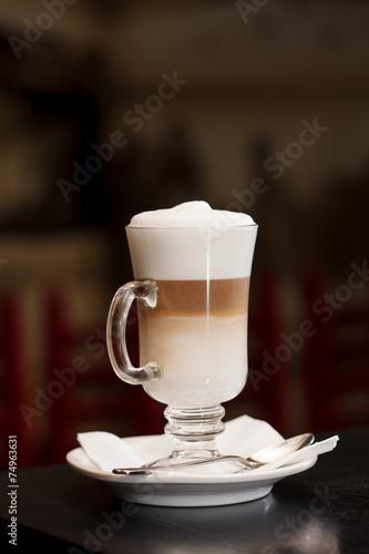 Canvas Cafe Latte macchiato