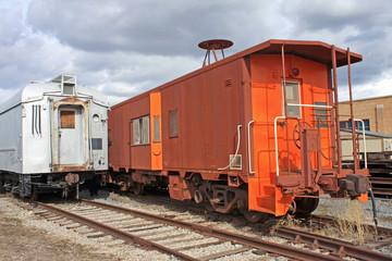 vintage railway trucks