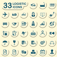 33 jeans logistic icons