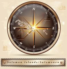 Karte von den Salomonen