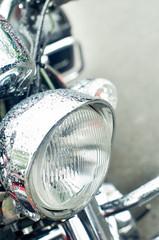 Motorbike front light
