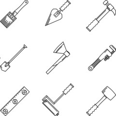 Contour icons for hand tools