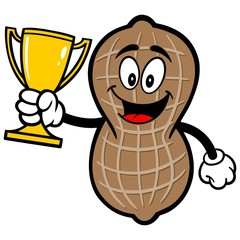Peanut with Trophy