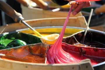 Fabrication de la sucette artisanale