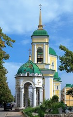 Church of the Resurrection in Voronezh, Russia