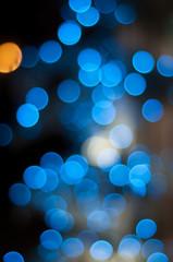lumières abstraites floues