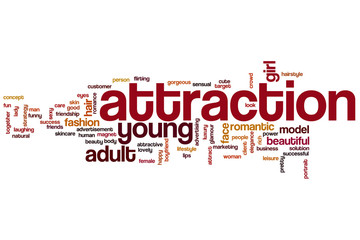 Attraction word cloud