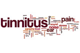 Tinnitus word cloud