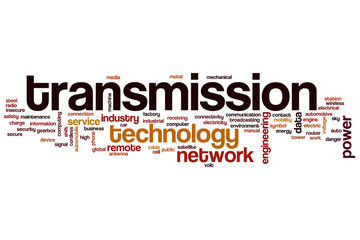 Transmission word cloud